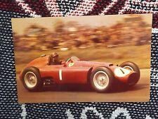 Juan Manuel Fangio Postal-Lancia Ferrari F1 - 1989 escuela de tarjeta