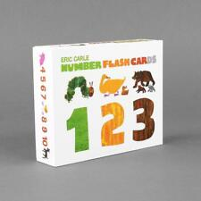 The World Eric Carle Animal Number Flash Cards Preschool Educational Learning