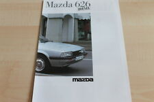 116348) Mazda 626 - Diesel - Prospekt 03/1985