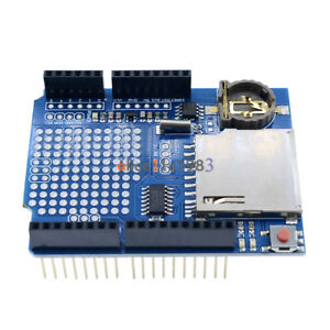 Data-Logger-Module-Logging-Shield-Data-Recorder-DS1307-for-Arduino-UNO-SD-Card