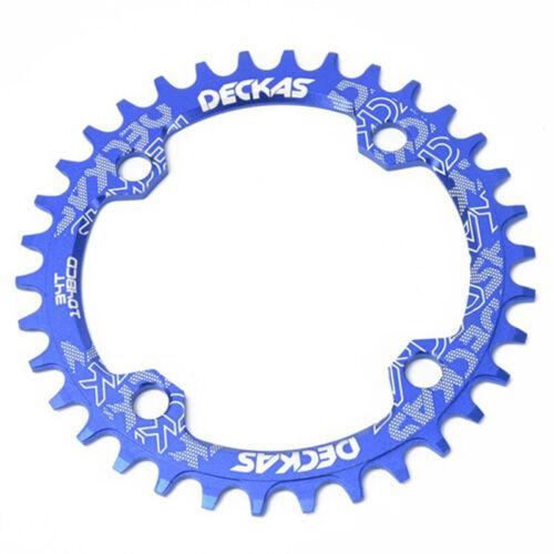 Single Speed BCD Aluminum Bike Chainring Bicycle Crank Chainwheel 32//34//36//38T