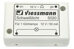 Viessmann-5020-Electronico-Luz-Soldar-Nuevo