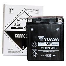 YUASA MOTORRAD-BATTERIE YTX7L-BS YTX 7L-BS NEU !!!, 12Volt 6Ah, 113x70x130 mm