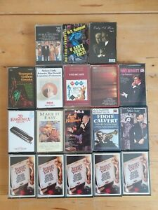 audio music cassette tapes bundle joblot x 18 as pictured mct32