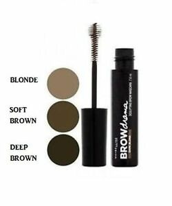fcd66f00ae7 Image is loading Maybelline-BROW-DRAMA-Sculpting-Eyebrow-Mascara-NEW-SEALED-