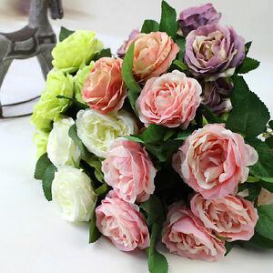 1000 stücke Hellrosa Seide Rosenblätter Blumenstrauß Künstliche Blume Hochzeit G