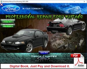 ford mustang 2004 manual