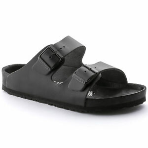 b6c0a29dfe6 Image is loading Birkenstock-Premium-Leather-MONTEREY-ARIZONA-EXQUISITE -Black-BNIB-