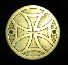 HD point cover -solid brass -iron cross design -style3