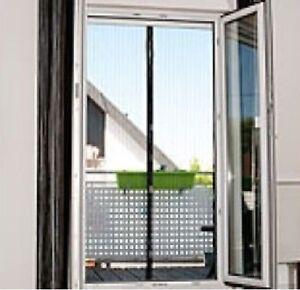 selbstschliessendes fligennetz f r t ren mit 18 magneten fliegengitter neu ebay. Black Bedroom Furniture Sets. Home Design Ideas