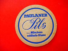 Beer Bar Coaster ~ Thomasbrau Paulaner Brauerei  Pils ~ Munchen (Munich) GERMANY