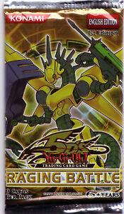 YUGIOH-BOOSTER-Raging-Battle-1st-Edition-Battaglia-Furiosa-1ST-EDITION-NEW-ENG