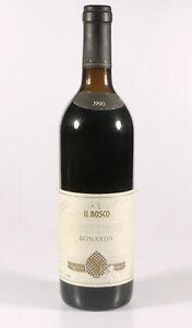 PRL-VINO-WINE-ROSSO-DOC-OLTREPO-039-PAVESE-BONARDA-IL-BOSCO-1990-COLLEZIONE-75-CL