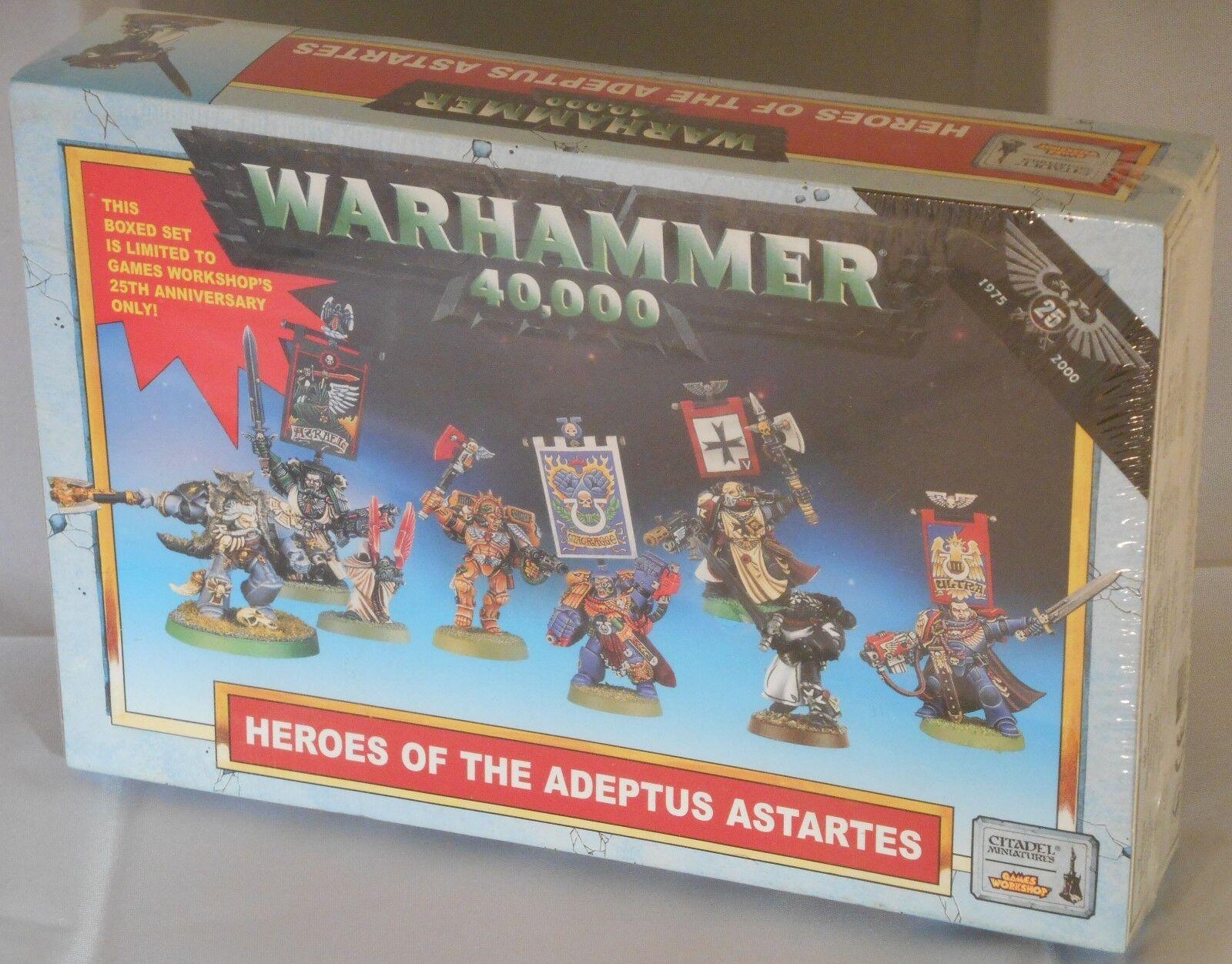 incentivi promozionali Heroes of the Adeptus Aestrellates - Ltd ed - - - 25th Anniversary - OOP, MIB - c. 2000   esclusivo