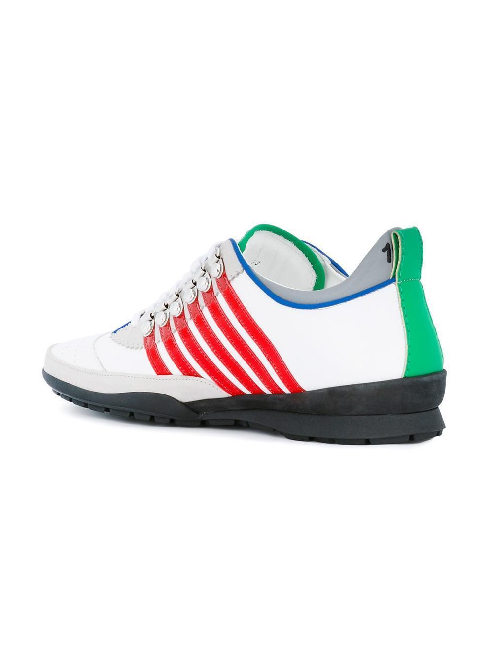 DSQUARED² DSQUARED² DSQUARED² BASKETS 251  'S HOMME Chaussures pour 100%AUT 2662ee