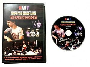 NWF Kids Pro Wrestling: The Untold Story RARE AUTOGRAPHED DVD Crusher Crossen