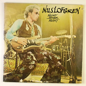 "2 x 12"" LP - Nils Lofgren - Night After Night - B1835 - washed & cleaned"
