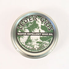 Leder Gris Original Wax Oil BLACK 40g Tin Waterproofing Boot Treatment Polish