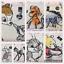 Personalised-DISNEY-WB-Canvas-Tote-Bag-Winnie-Mickey-Simba-Minnie-Mermaid thumbnail 33