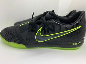 Nike-Zoom-Phantom-Venom-Pro-IC-Indoor-Soccer-Shoes-Size-10-Black-Volt-BQ7496-007