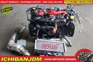 Details about JDM SUBARU STI ENGINE VERSION 7 EJ207 GDB LONG BLOCK MOTOR  VF37 EJ257 WRX