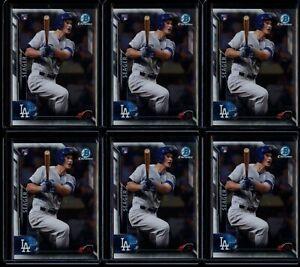 2016 Bowman Chrome Corey Seager Vending RC 6 Card Lot #150 Rookie Dodgers