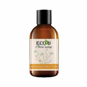 ECO U Camomilla rilassante e tonico viso rigenerante per tutti i tipi di pelle 200ml
