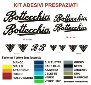 100% De Qualité Kit Adesivi Bottecchia Bici Vintage Alta Qualità Sticker Decals Epoca Bike Logo