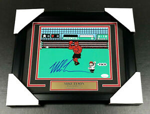 IRON-MIKE-TYSON-AUTHENTIC-SIGNED-AUTOGRAPHED-8X10-PHOTO-FRAMED-PUNCH-OUT-JSA-COA