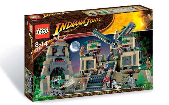 Lego 7627 Indiana Jones Temple of the Crystal Skull  Sealed Box  10 Minifigs