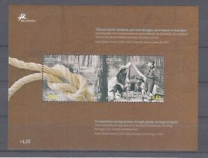 d-Europa-CEPT-2007-Pfadfinder-Scouts-Azoren-Block-33-mnh