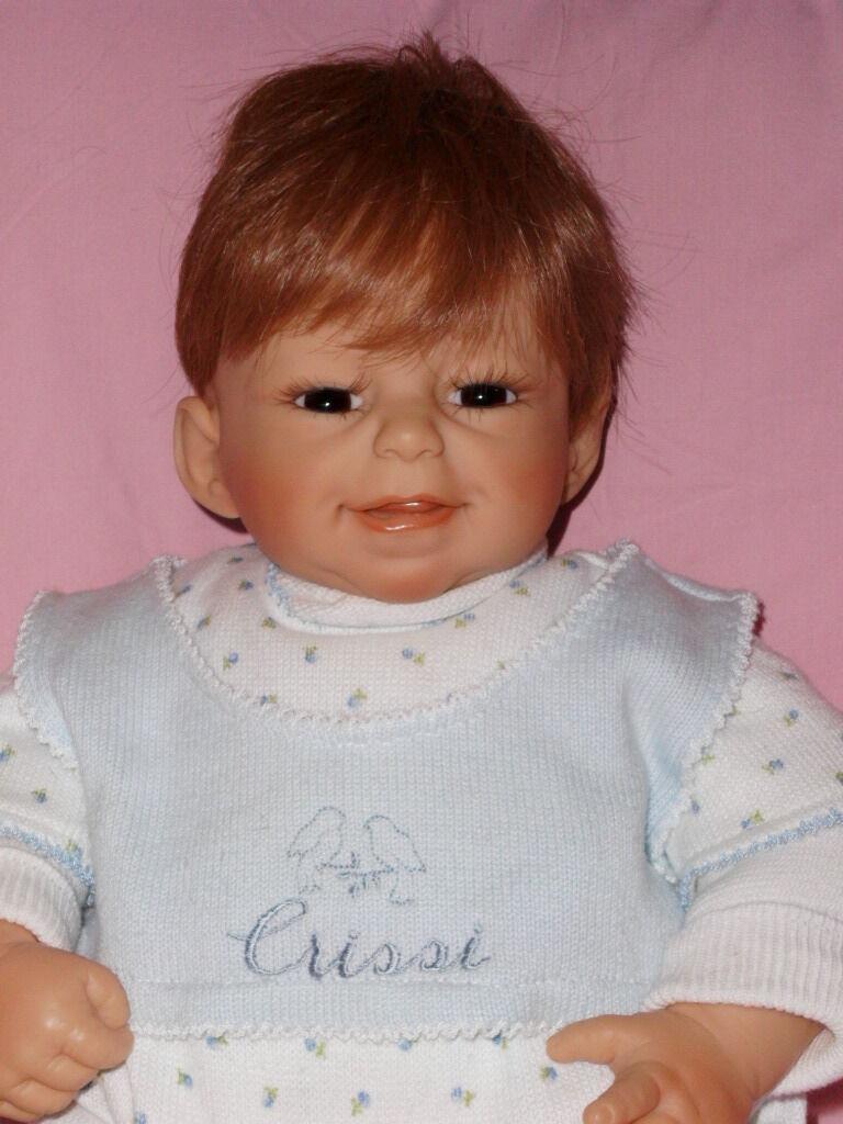 Artistas muñeca muñeca Doll avgi Zapf rolanda heimer cabello humano