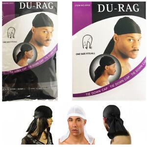 Durag pour Homme Sports Bandana Rag doo écharpe Gym Rap Cravate Bande Motard Cap Crâne Rag  </span>