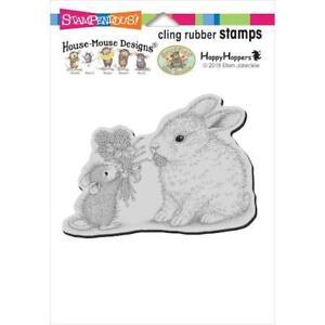 Stampendous House Mouse S'accrocher Timbre-clover Bouquet Hmcp 104-afficher Le Titre D'origine Sjjsuyla-10110345-725693182