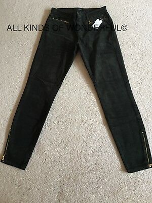 DK Inky Blue RRP£225 Brand New With Tags J Brand Everleigh Skinny Empire