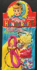 """1950s Made in JAPAN """"CUTE HANDCRAFT TRUE LOVE JEWELRY"""""""