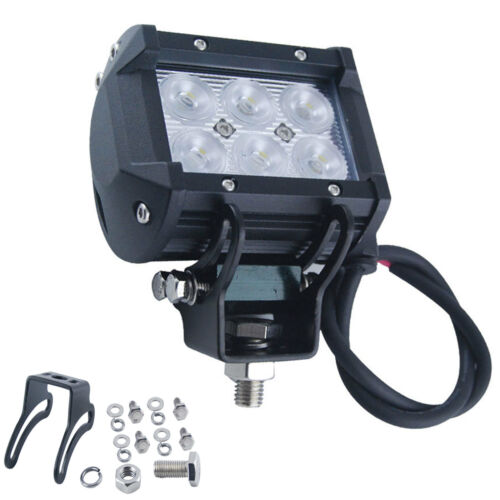 18W cree LED Work Light Floodlight Spot//Flood12V 24V 4WD Offroad Car Jeep Truck