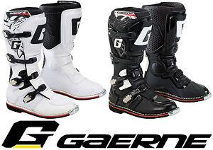 Gaerne Gx 1 Goodyear Motocross Enduro Mx Boots Black Or White