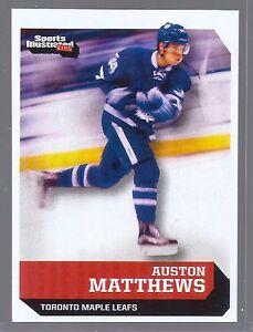 AUSTON-MATTHEWS-SPORTS-ILLUSTRATED-TORONTO-MAPLE-LEAFS-039-1ST-EVER-034-ROOKIE-CARD