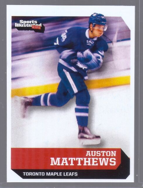 AUSTON MATTHEWS SPORTS ILLUSTRATED TORONTO MAPLE LEAFS '1ST EVER