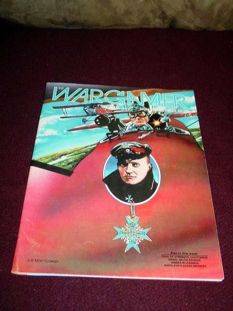 WARGAMER  48 1985 - rot Baron game - WW1 Aerial Combat (UNPUNCHED)
