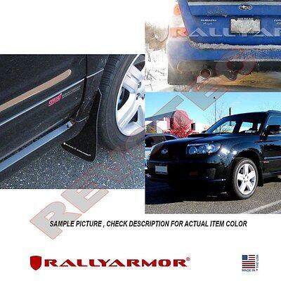 Rally Armor BASIC Mud Flaps for 2003-2008 SUBARU FORESTER w// Black Logo
