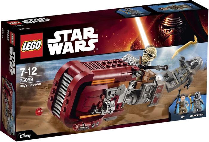 LEGO estrella guerras  75099 Rey's Speeder (nuovo sealed)  incentivi promozionali