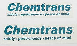 'chemtrans' Decals Computer-cut Vinyl Suit 1/50 Scale Tankers