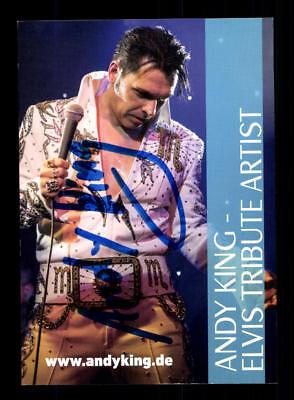 Kreativ Andy King Autogrammkarte Original Signiert # Bc 115637 Vertrieb Von QualitäTssicherung Autogramme & Autographen