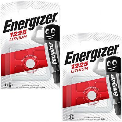 4 X Energizer 1225 Batería De Litio 3v Cr1225 Dl1225