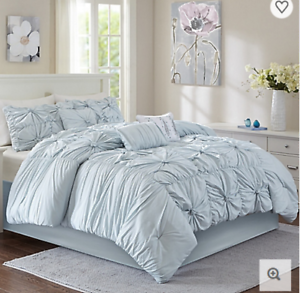 7-Piece-Luxury-Queen-King-Comforter-Set-Bun-Blue