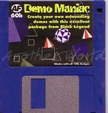 Amiga Format - Magazine Coverdisk 60b - Demo Maniac <MQ>