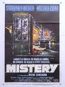 MISTERY-dramma-thriller-Bob-Swaim-con-S-Weaver-Michael-Caine-manifesto-1987