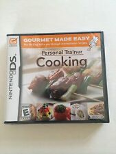 Personal Trainer: Cooking  (Nintendo DS, 2008) Brand New Sealed